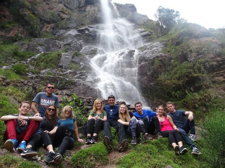 Cataratas de Arin en Calca steven