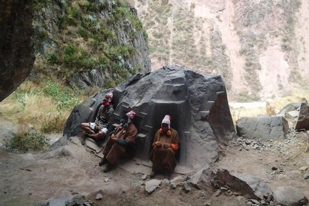 incan caves picture